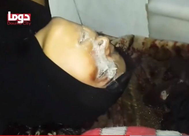 femicide Fake froth on a woman's corpse that was not newly dead.
