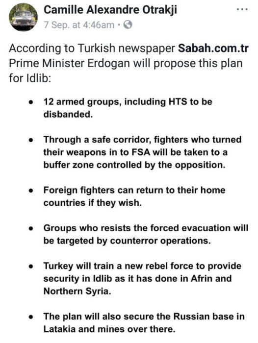 Erdogan Plans to Keep Control of Idlib Using His Terrorist Proxies