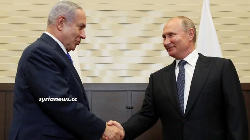 Russia President Putin and Israel War Criminal Netanyahu
