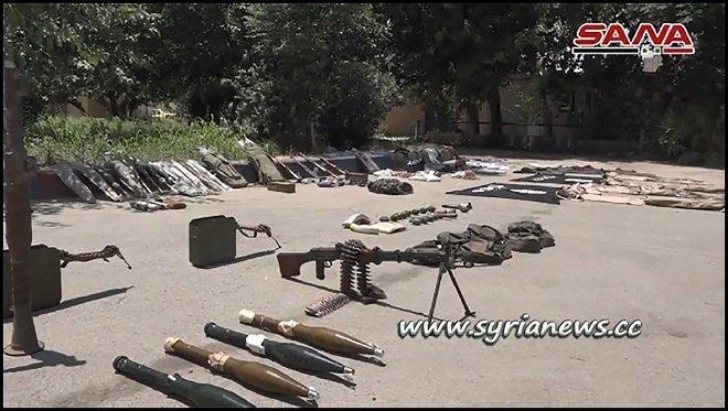 SAA Raids an ISIS Quarters southeast of Deir Ezzor