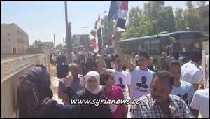 Qussayr displaced families return to their city - Homs Countryside