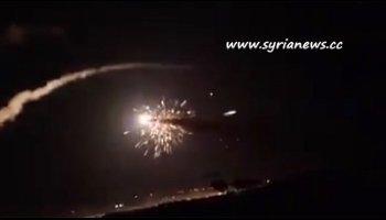 SAA air defence units intercept Israeli missiles 01 July 2019