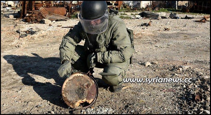 Sapper Dismantling Landmines IED Improvised Explosive Device