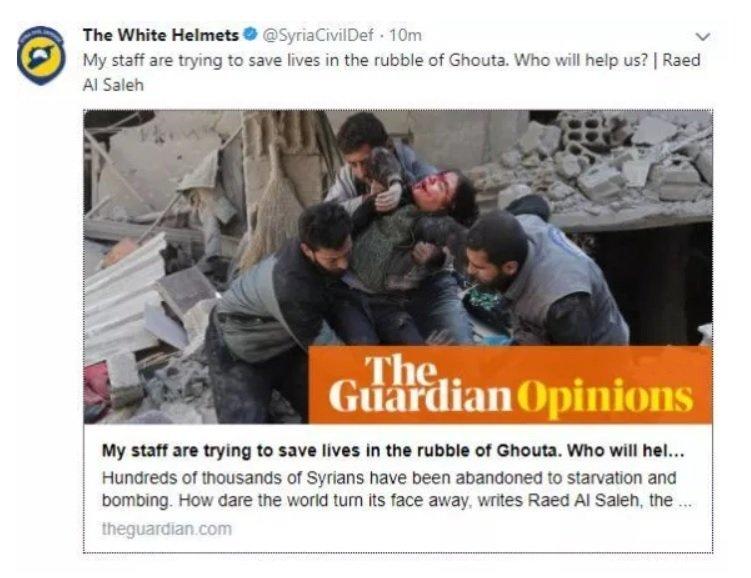 al Qaeda White Helmets brutalized Syrian boy for war porn.