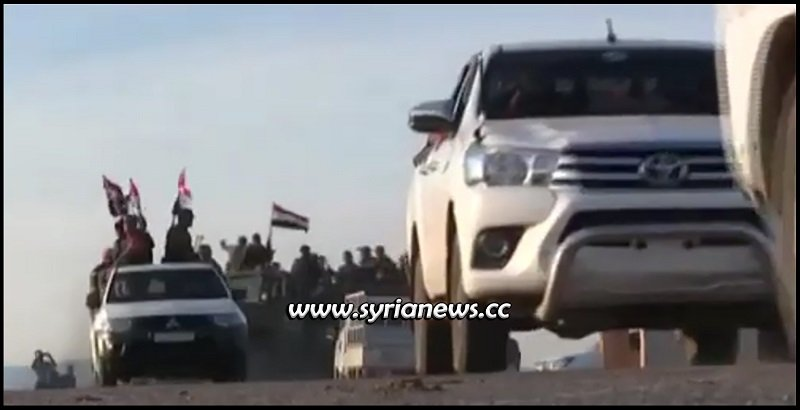 SAA Syrian Arab Army deployment northeast of Syria in Hasakah at borders with Turkey