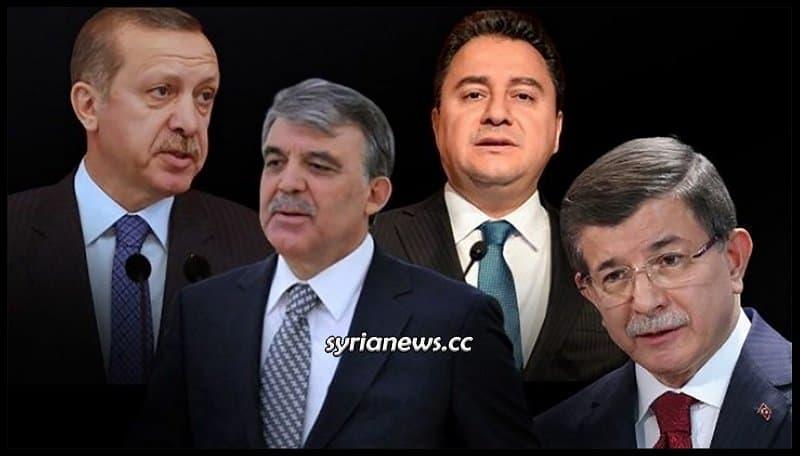 Erdogan, Gul, Babajan, and Davotuglo: Yesterday's friends today's enemies