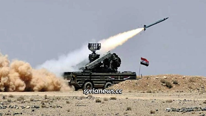 Syrian air defense repel Israeli missiles - archive photo