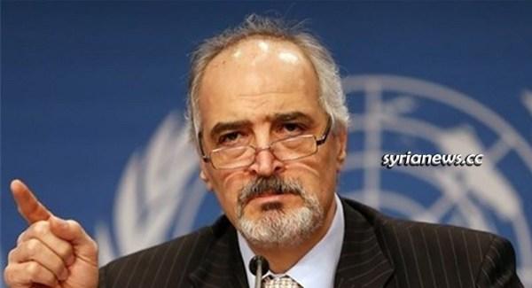Syria Ambassador to the United Nations Dr Bashar Jaafari