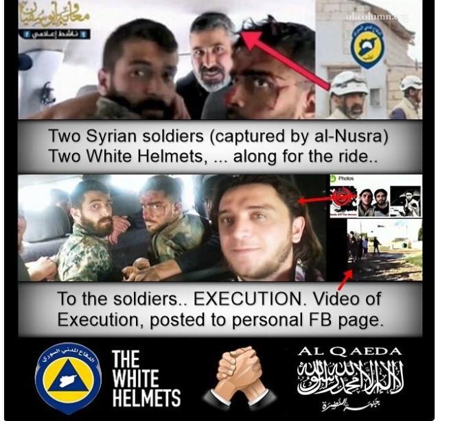 Jolani runs the White Helmets in Idlib