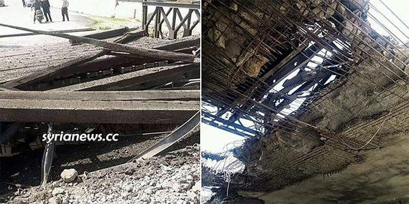 Mhambel (Muhambal) Bridge Idlib M4 Aleppo - Lattakia highway