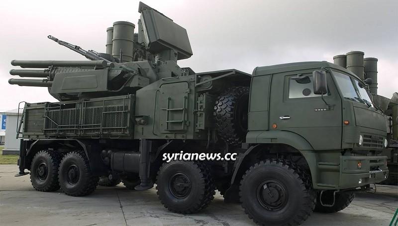 Russian Pantsyr Air Defense unit - Syria Idlib - Turkey