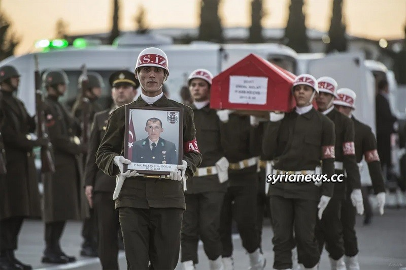Turkish army soldiers tsk killed in Syria for their Sultan Erdogan