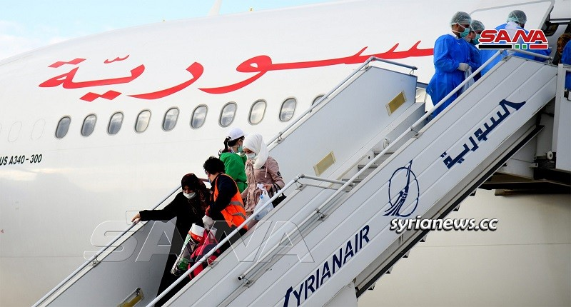 Syria continues evacuating stranded Syrians abroad because of coronavirus (covid-19) lock down