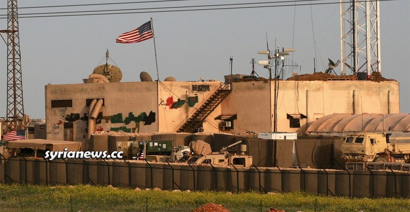 Abandoned illegal US Military base in northern Syria