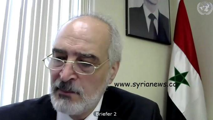 Syrian Ambassador to the UNSC Bashar Jaafari