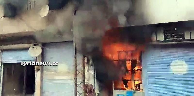 Explosion in Ras Al Ayn - Hasakah - Syria