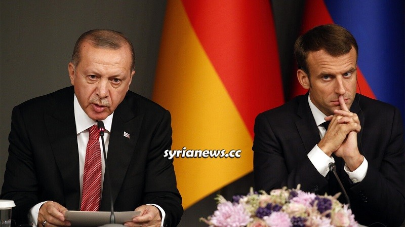 Erdogan and Macron Turkey and France Escalations