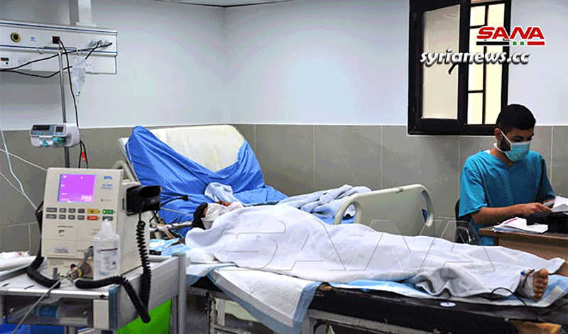 Syrian students injured in landmine explosion southwest of Damascus