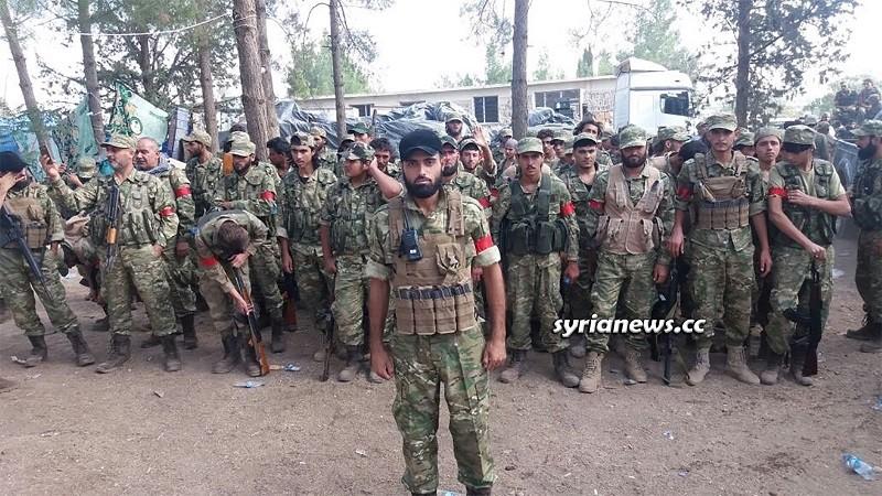 Hamza Division - Erdogan Hamzat Muslim Brotherhood terrorists