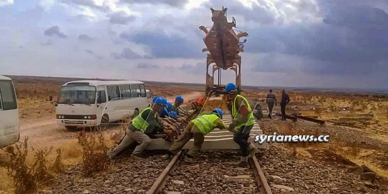 Syria railways - economy sanctions rebuilding rehabilitation