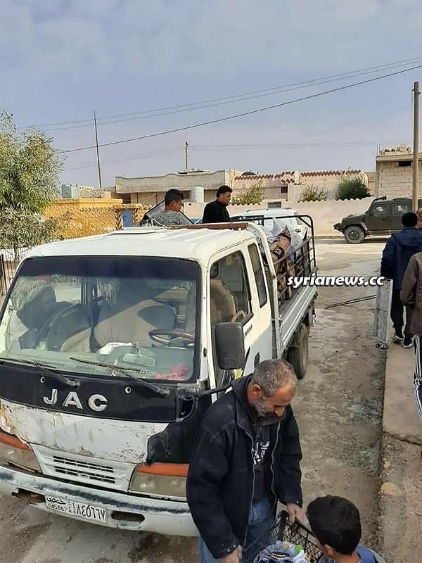 Syrian civilians fleeing Ain Issa attacked by Erdogan terrorists