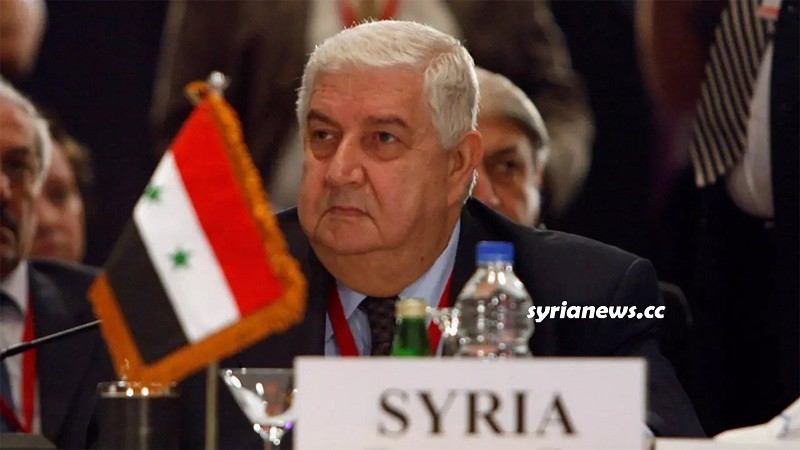 Walid Al Muallem Syria Foreign Minister