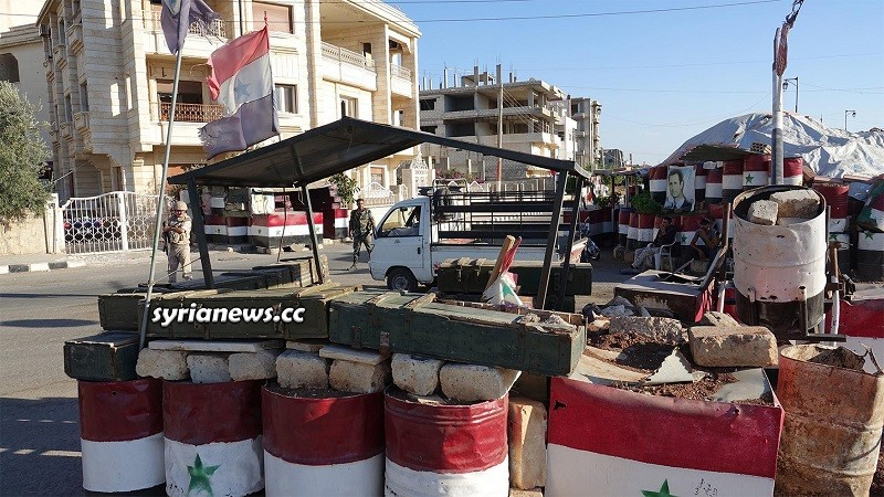 Deal Daraa SAA - Syrian security security checkpoint