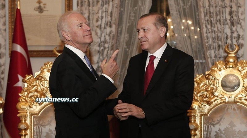 US Joe Biden and Turkish Erdogan 2016