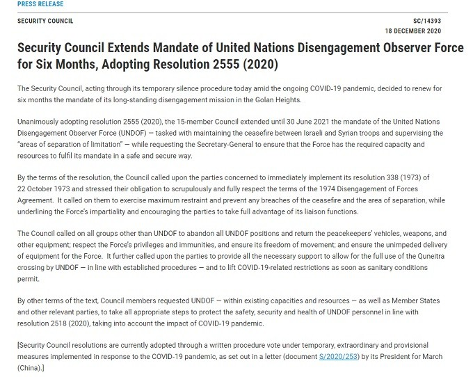 united nations security council resolution 2555 2020
