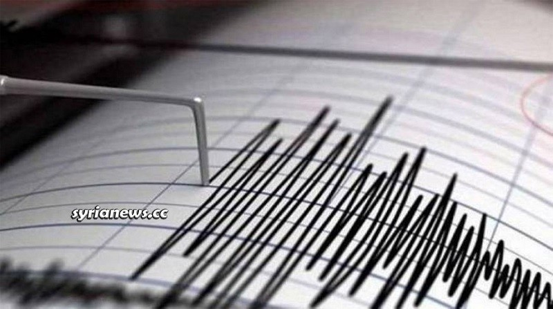 Earthquake - tremor Richter scale - Syria