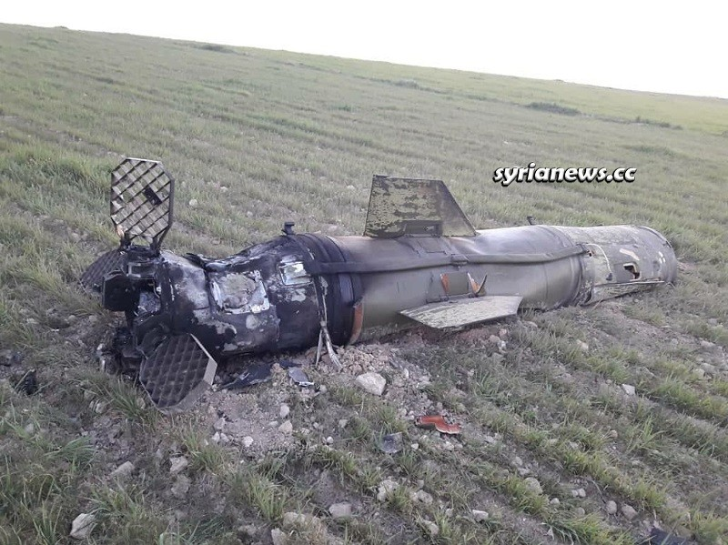Tochka spent surface-to-surface missile - Aleppo countryside