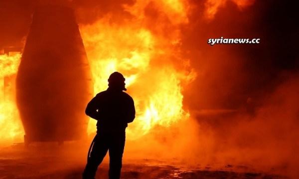 SAA Destroys Erdogan Stolen Syrian Oil Facility Northern Aleppo countryside