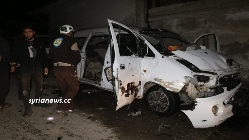 A Child Killed and 2 Civilians Injured in a Twin Explosion in Jarabulus, North Syria