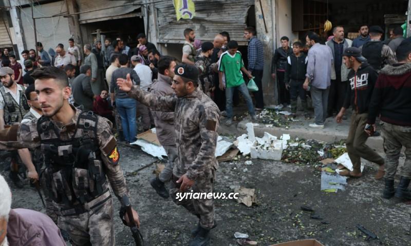 IED Explosion in Al Bab city - Aleppo - Syria