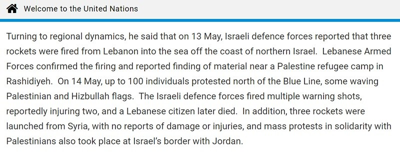 Gaza and Lebanon