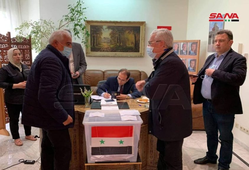 Brussels - Syrian Presidential Election