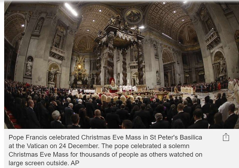 Not Gaza, nor the Church of the Holy Sepulchre.