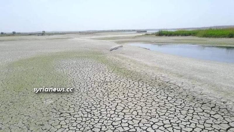 Turkish regime of Erdogan reduce Euphrates water flow into Syria and Iraq