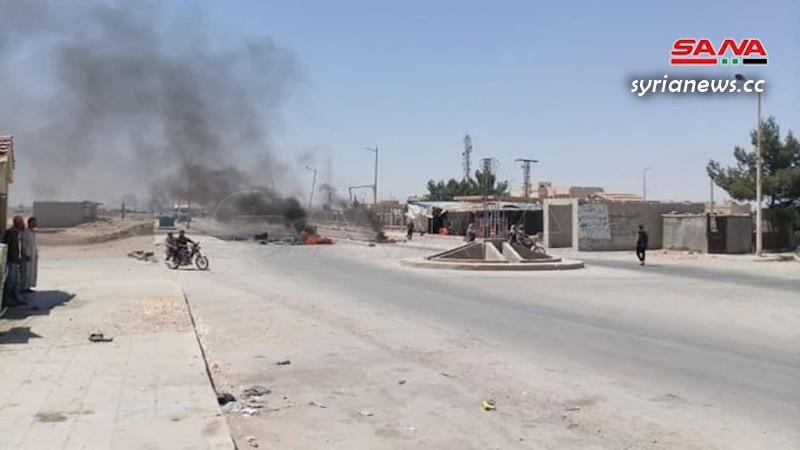 US-sponsored Kurdish SDF terrorist commit a massacre in Hasakah northeast of Syria