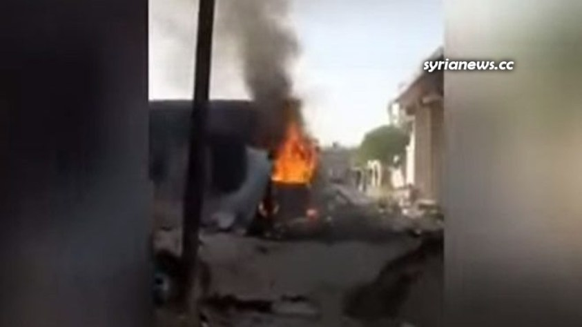 Car bomb explosion in Afrin, northwest of Aleppo