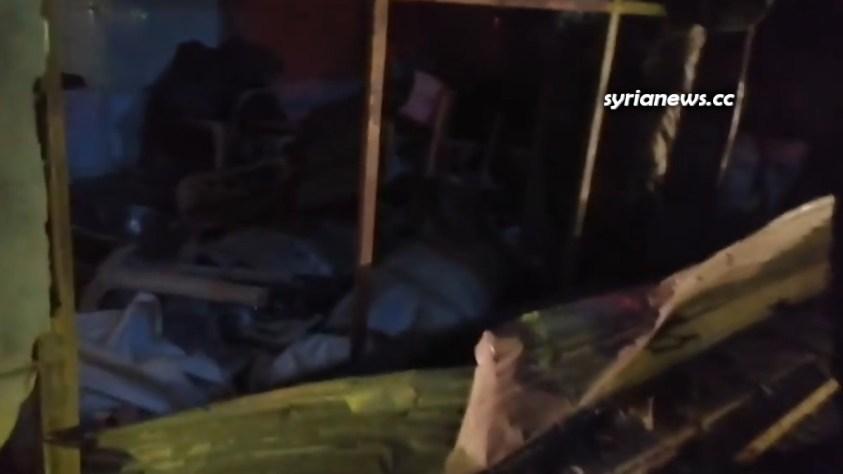 Homs Karm Al Louz Bomb 08 June 2021