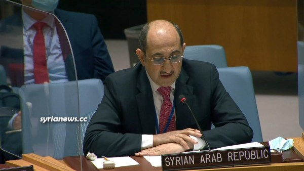 Syria Ambassador to the United Nations Dr. Bassam Sabbagh - Security Council, OPCW, NATO