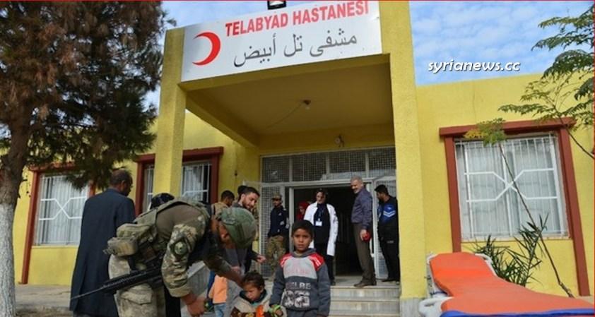 Syria Tal Abyad Hospital turkified.- Raqqa