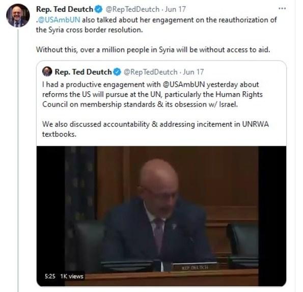 Congress member Deutch broke record for lies.