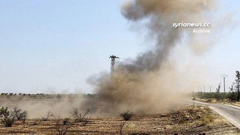 Landmines explosion - Syria - file photo