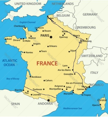Annexation normalized against Syria would not be tolerated against France.