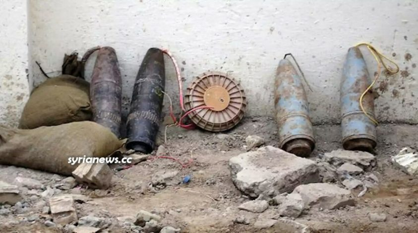 Explosive devices landmines and projectiles in Syria