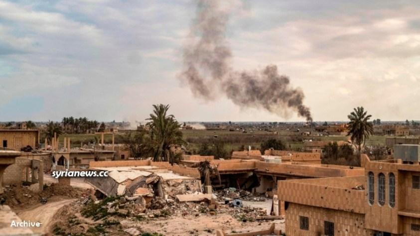 Landmine explosion in Syria - Archive