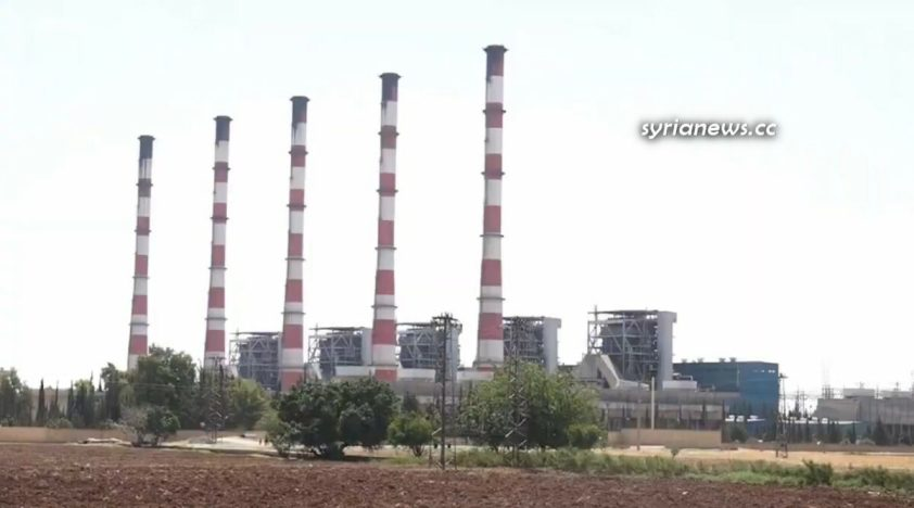Syria Economy and Infrastructure - Aleppo Thermal Power Plant Rehabilitation