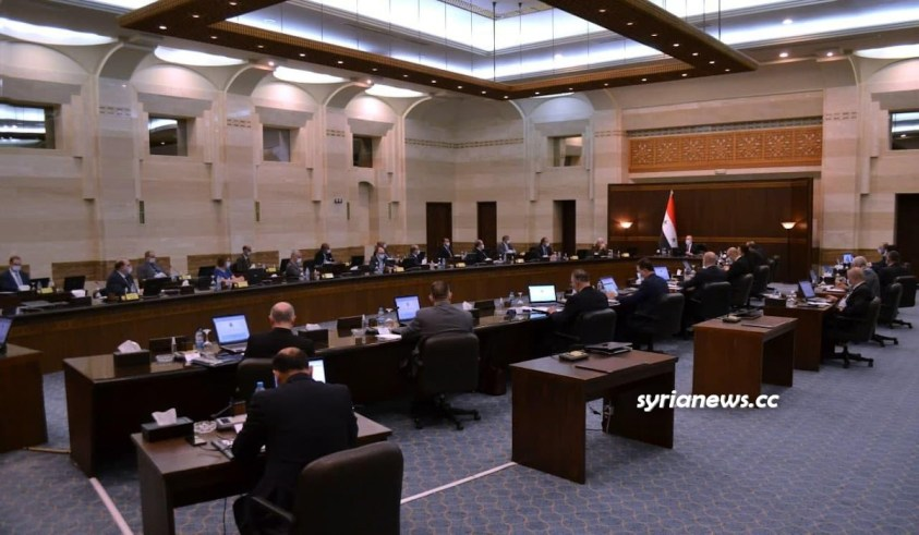 The Syrian Cabinet - syrian government - syrian prime minister and ministers